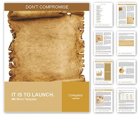 papyrus template ancient papyrus word template design id 0000006508