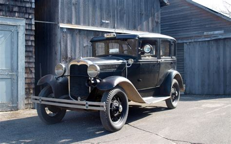 A Model by 1930 Ford Model A Taxi