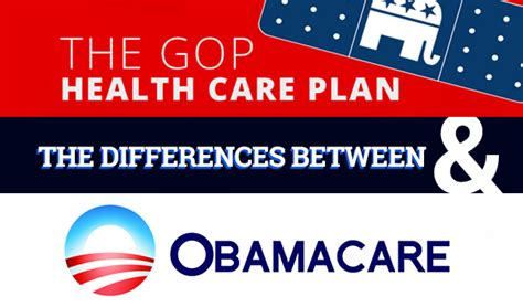 gop healthcare plan gop healthcare plan vs obamacare differences explained