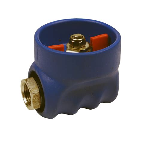 i do rubber st kiowa ltd 1 2 bsp st st rubber coated valve blue