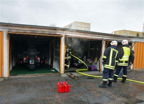 garage pirna freiwillige feuerwehr pirna garagenbrand