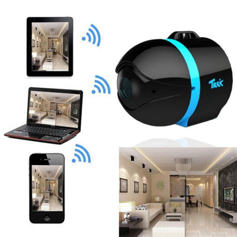 Kitchen Islands Clearance by Trek Ai Ball Mini Wifi Cam Ip Wireless Camera For Iphone Android Ipad Black Blue Tmart