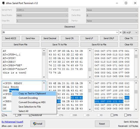 windows terminal program serial port dihav serial port terminal