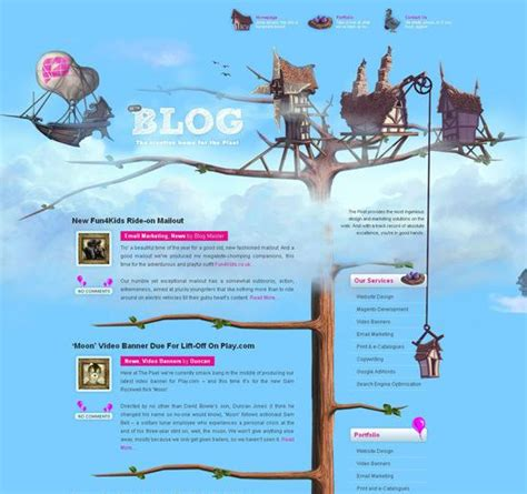 beautiful blog design 50 beautiful and creative blog designs 192 voir