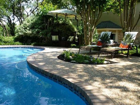 pools in backyards triyae com backyard inground pool pictures various