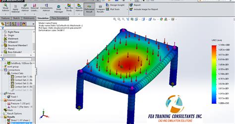 solidworks fea tutorial image gallery solidworks simulation