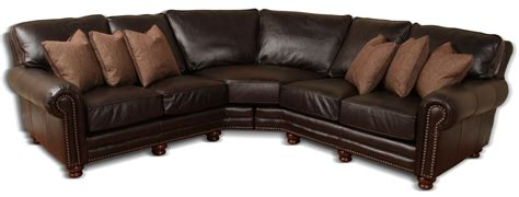 deep leather sectional kingston deep leather sectional leather creations