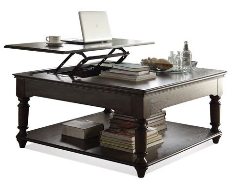 Square Lift Top Coffee Table Belmeade Square Lift Top Coffee Table By Riverside Furniture Wolf Furniture