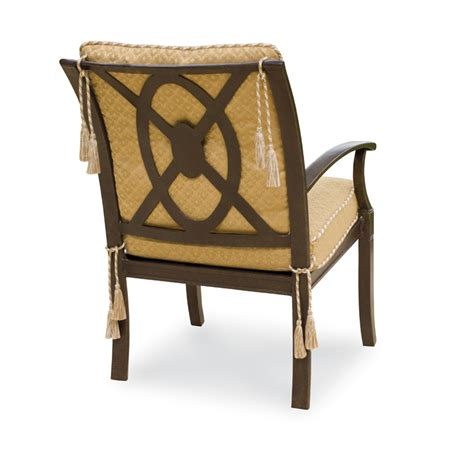 woodard cushion dining armchair with target back
