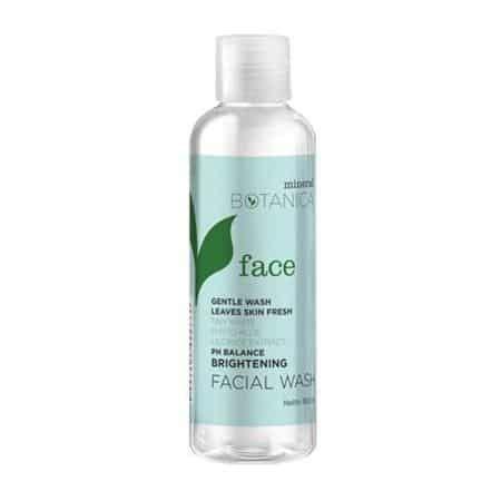 Termurah Mineral Botanica Foam Wash 10 merk sabun muka untuk memutihkan wajah yang bagus