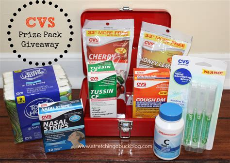 Cvs Giveaway - beat the flu with cvs pharmacy prize pack giveaway cvsaccess stretching a buck