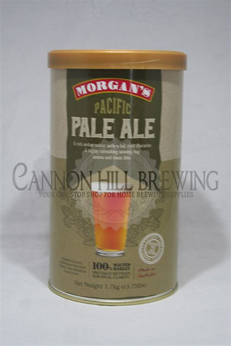 morgans brewing morgans pacific pale ale cannon hill brewing