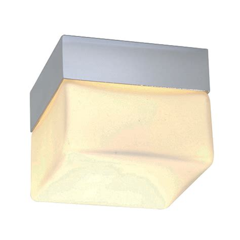 saxby lighting square small ip44 28w light bathroom