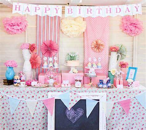 kara s party ideas shabby chic tea party decor1 600x535 kara s party ideas
