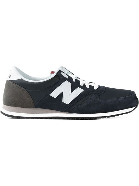 new balance 420 sneakers lyst new balance 70s running 420 sneakers in blue for