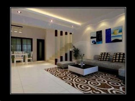 Wall Design For Hall by Plaster Ceiling Renovation