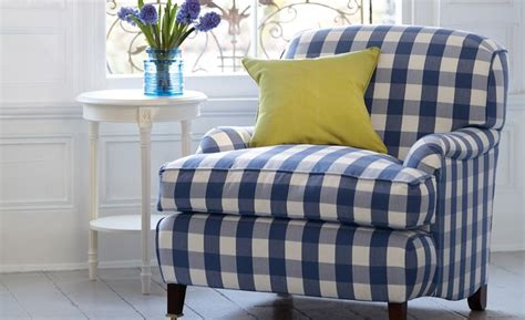 Gingham Armchair by Gingham Chair In A White Room Quot Check Quot It Out