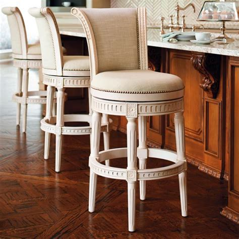Manchester Swivel Counter Stool by Manchester Swivel Bar And Counter Stools In Vintage White
