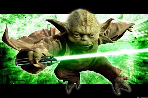 How To Frame A Print by Star Wars Yoda In Action Wall Mural Amp Photo Wallpaper