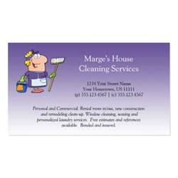 house cleaning business card 2 purple house cleaning customer loy pack of