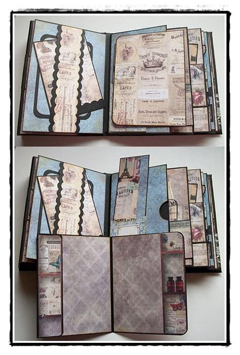 tutorial scrapbook vintage 17 best images about mini album tutorial on pinterest