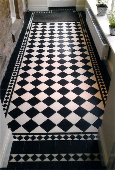 PIN 10: These tessellated tiles create a classic period