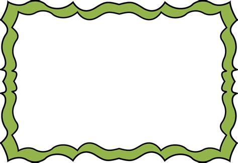 Fun clipart borders pencil and in color fun clipart borders