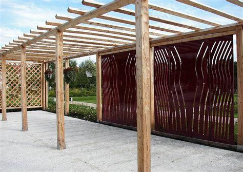 mediterraner sichtschutz terrasse sichtschutz in moderner form terrassengestaltung ideen