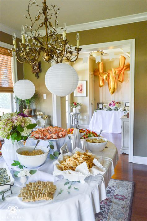 bridal shower table setup ideas to throw an indoor garden bridal shower