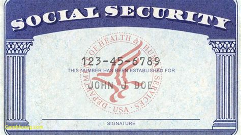 Blank Social Security Card Template by Fresh Blank Drivers License Template Best Templates
