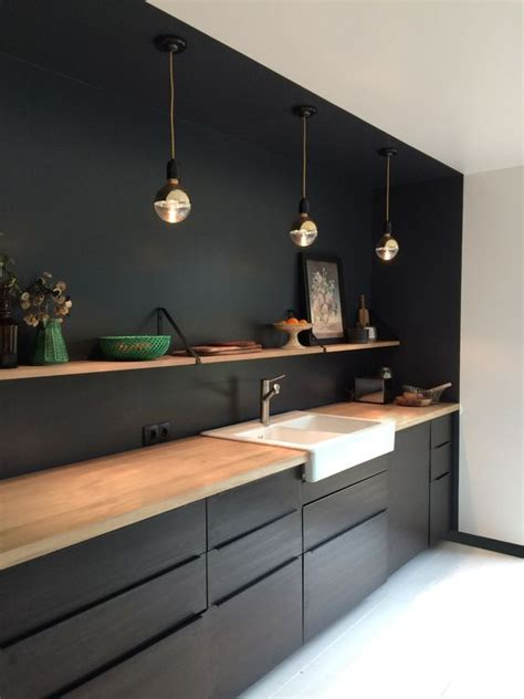 ideas  decorar cocinas color negro