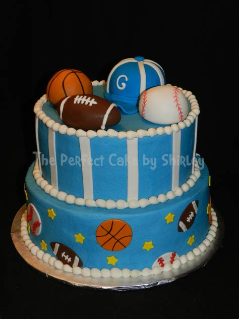 Sports Themed Baby Shower Cakes by Sports Baby Shower Cakecentral