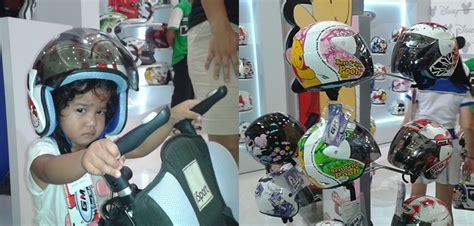 Helm Gm Kecil helm motif kartun buat si kecil lucu aman dan nyaman gilamotor