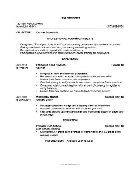 retail cashier resume sample job and resume template cashier resume