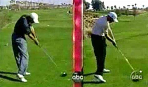 golf swing at impact swingplane