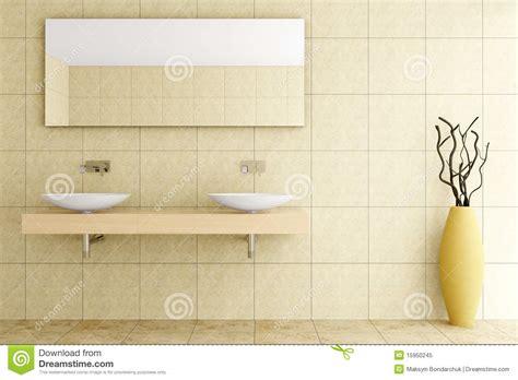 moderne badezimmer fliesen beige modernes badezimmer mit beige fliesen auf wand stock