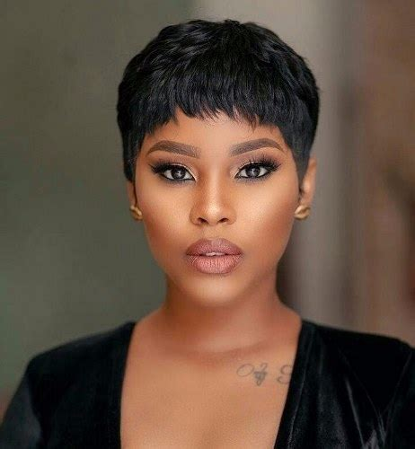 savage look haircut tiwa savage ghana weaving hairstyles it suits her best