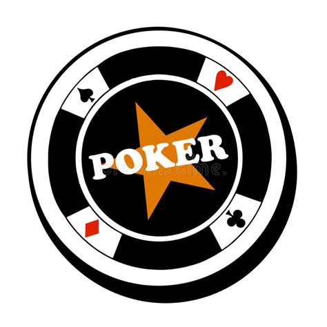 vector poker fish logo stock vector image  fish games
