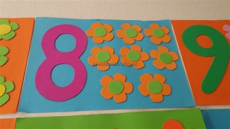 number craft for number theme craft for preschool preschool crafts