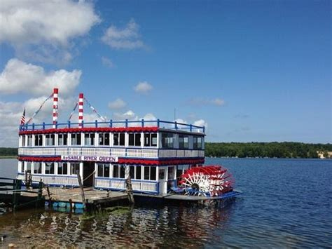 ausable river queen boat tour au sable river queen oscoda all you need to know