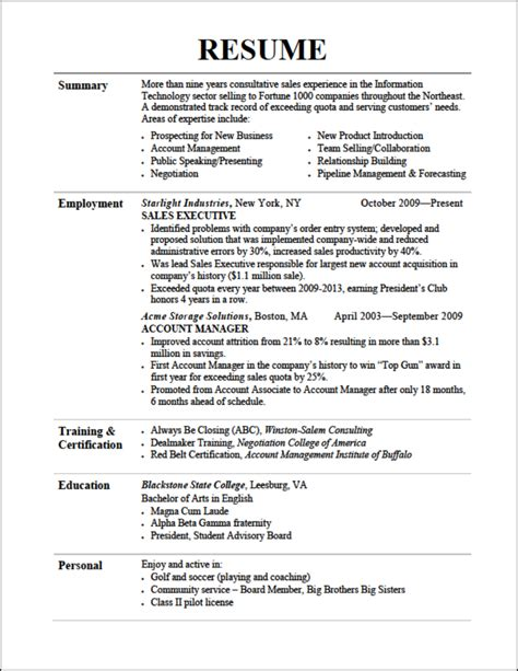 Resume In by Resume Tips Resume Cv
