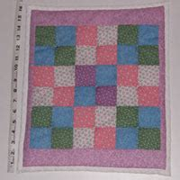 American Doll Quilt Size by Doll Quilts