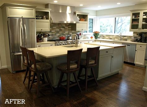 How To Make A Kitchen Island 6 dramatic kitchen makeovers hooked on houses
