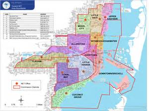 Miami Dade Zoning Map by City Of Miami Neighborhood Enhancement Team Net