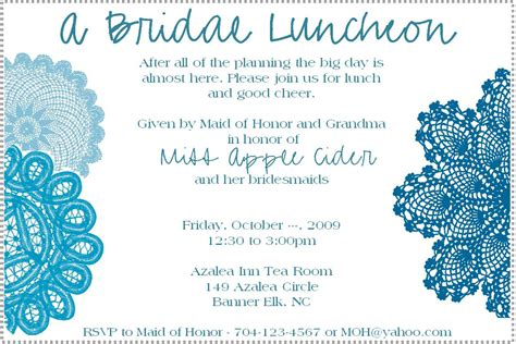 lunch invitation template bridal luncheon invitation weddingbee