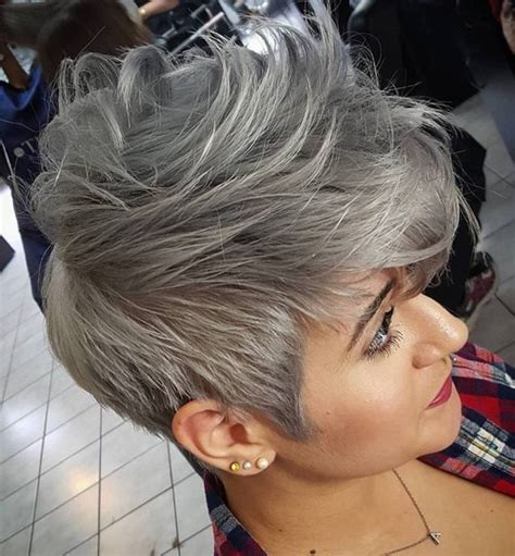 ombre hair color technique on older women ombre hair color trends is the silver grannyhair style