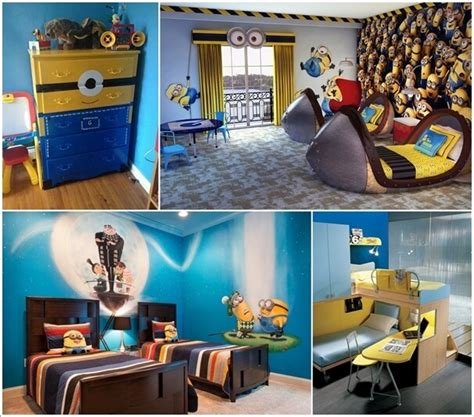 10 cute and cool minions kids room ideas kid rooms