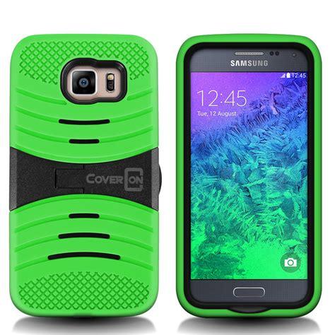 s6 samsung phone for samsung galaxy s6 hybrid kickstand protective impact phone cover ebay