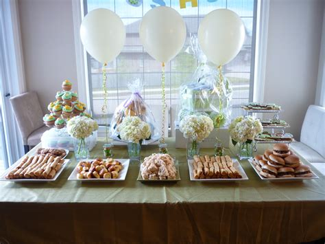 baby shower set up table setup the sweet life jvo