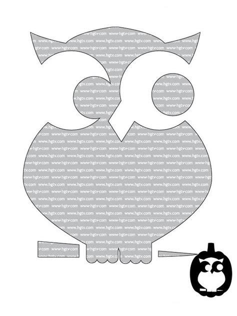 printable owl pumpkin template free halloween printables hgtv design blog design happens